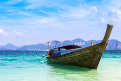 Boat on andaman sea Royalty Free Stock Photo