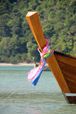 Boat in Andaman sea, Thailand Royalty Free Stock Photography