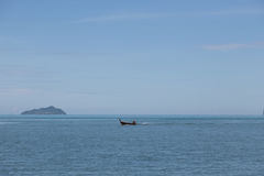 Boat in andaman sea of Thailand. Fisher Boat in andaman sea of Thailand Royalty Free Stock Photography