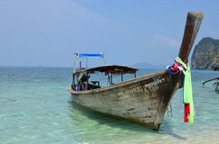 Boat around Koh Tup, Thailand Stock Images