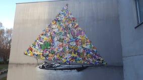 Boat. Art binding copy sail oslo Stock Photography