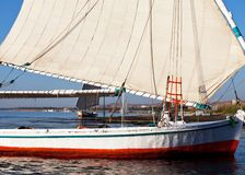 Boat in Aswan Royalty Free Stock Image