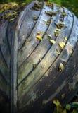 Boat in autumn Stock Photo