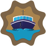 Boat badge Stock Image