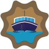 Boat badge Stock Image