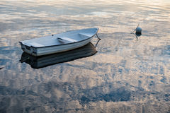 Boat on the Baltic Sea Stock Images