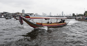 Boat in Bangkok Stock Images