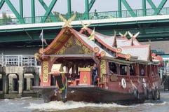 Boat in bangkok city Stock Image