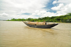 Boat in Bangladesh Stock Images