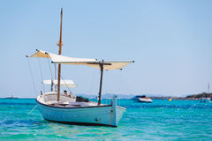 Boat In Bay Royalty Free Stock Photo