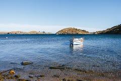 Boat in a bay Stock Image