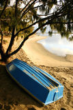 Boat By The Beach Royalty Free Stock Photos