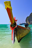 The boat on beach. Royalty Free Stock Image