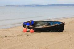 Boat on the beach. Stock Photos