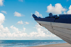 Boat on the beach. In thailand Stock Photography