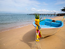 Boat on the beach,Traditional boat Stock Image