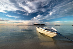 Boat on the beach. Royalty Free Stock Image