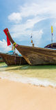 Boat in the beautiful beach Royalty Free Stock Photo