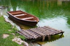Boat berth Stock Photography