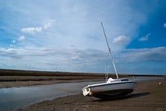 Boat at Blakeney Stock Photo