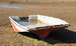 Boat on the bottom Royalty Free Stock Photography