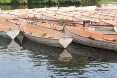 Boat boulogne Paris Stock Photos