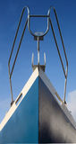 Boat Bow. The bow of a fishing boat Royalty Free Stock Photos