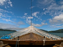 Boat Bow, Brazil. Schooner trip off coast of Paraty, brazil Stock Images