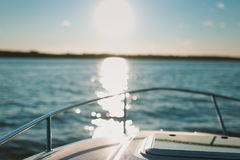 Boat bow, yatch Royalty Free Stock Photography