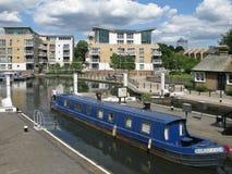 Boat at Brentford Marina, London, UK, Royalty Free Stock Photography