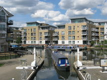 Boat at Brentford Marina, London, UK, Stock Images