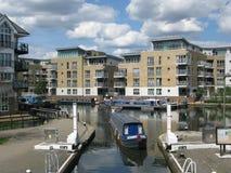 Boat at Brentford Marina, London, UK, Stock Image