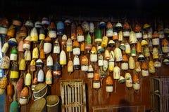 Boat buoy Wall in New York City.  Stock Photos
