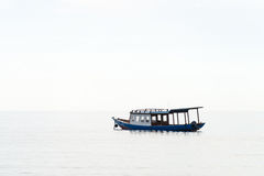 Boat in the calm sea Royalty Free Stock Image