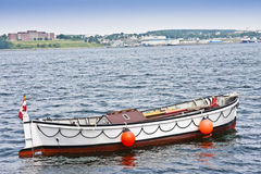 Boat on Calm Waters Stock Photos