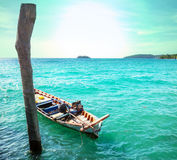 Boat in Cambodia Royalty Free Stock Photos