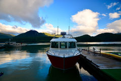 Boat in Canada Royalty Free Stock Photos