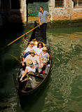 Boat canal italy Stock Photo