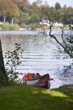 Boat - Canoe Resting Stock Image