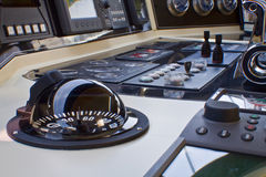 Boat captain cabin Royalty Free Stock Photo