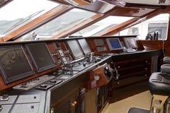 Boat captain cabin Royalty Free Stock Photo