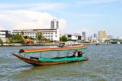 Boat on Chao Phraya river Stock Image