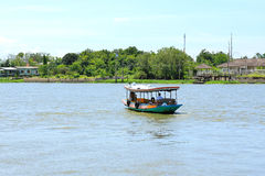 Boat on Chao Phraya river Stock Image