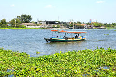 Boat on Chao Phraya river Royalty Free Stock Images