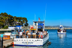 Free Boat Charter - Dana Point Harbor - California Stock Images - 86260674
