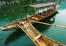THE BOAT IN CHINA Royalty Free Stock Photography