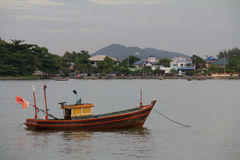 Boat @ Chonburi/ Thailand Royalty Free Stock Images