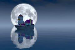 Boat christmas Stock Photography