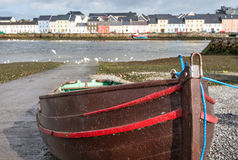 Boat in Claddagh Royalty Free Stock Image