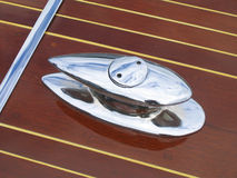 Boat cleat detail Royalty Free Stock Photos